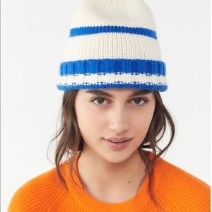 4508a04aa00 Urban Outfitters Accessories - NWT Urban Outfitters Sven Striped Beanie
